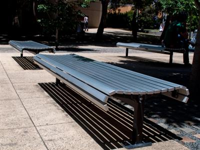 Street furniture and playthings